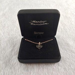 Harley-Davidson Stamper Pendant Silver Necklace